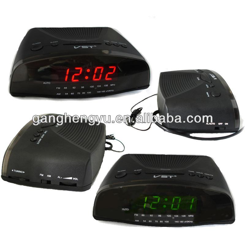 fm am electronic clock alarm clock radio buy alarm clock radio fm am. Black Bedroom Furniture Sets. Home Design Ideas