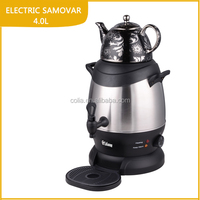 electric stainless steel samovar
