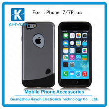 [kayoh]Cheap price mobile accessories hard combo custom phone cases For iphone 7 7plus armor back cover