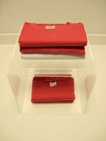 Acrylic T-shirt Display Box Perspex Clothes Display Acrylic Jersey Display Case