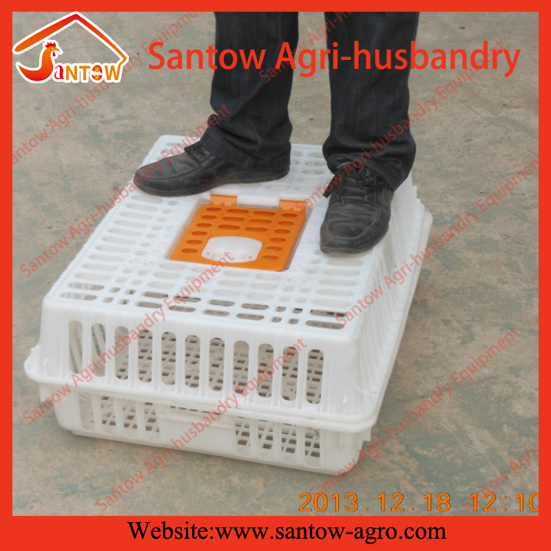 Plastic chicken duck quail birds pigeon broiler turkey animal livestock transport cages for poultry tansportation