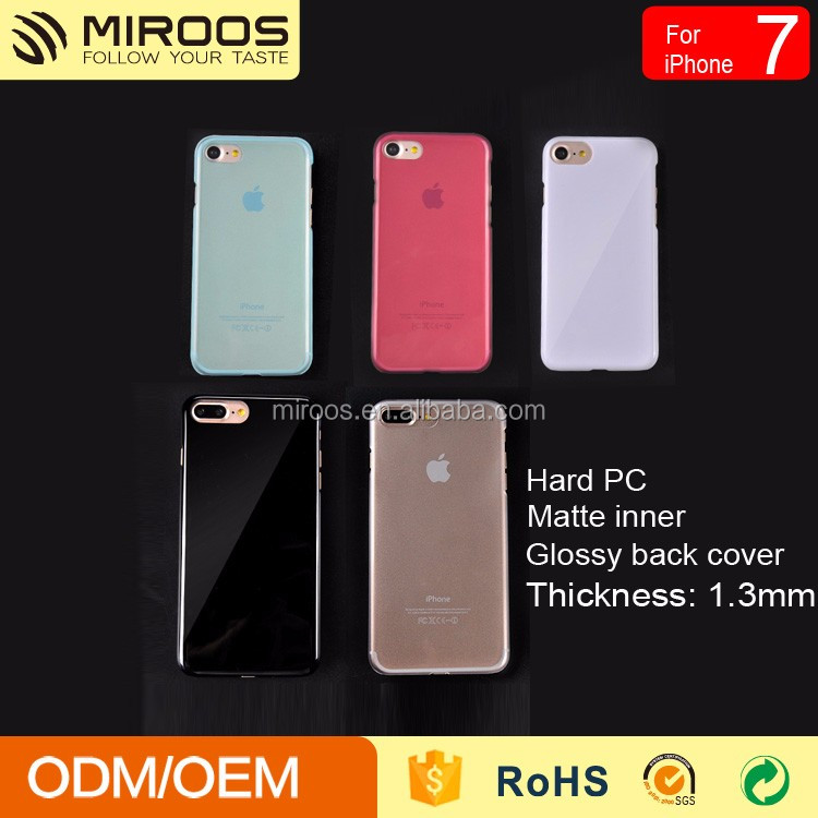 For iphone7 7plus oem design China phone cover manufacturer colorful pc phone case