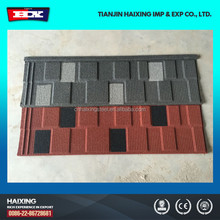 Chinese Aluminium Sand Stone Coated Step Tile Roofing Sheet