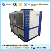 Sanyo Compressor 25 Tons Air Cooled Water Chiller, Industrial Water Chiller