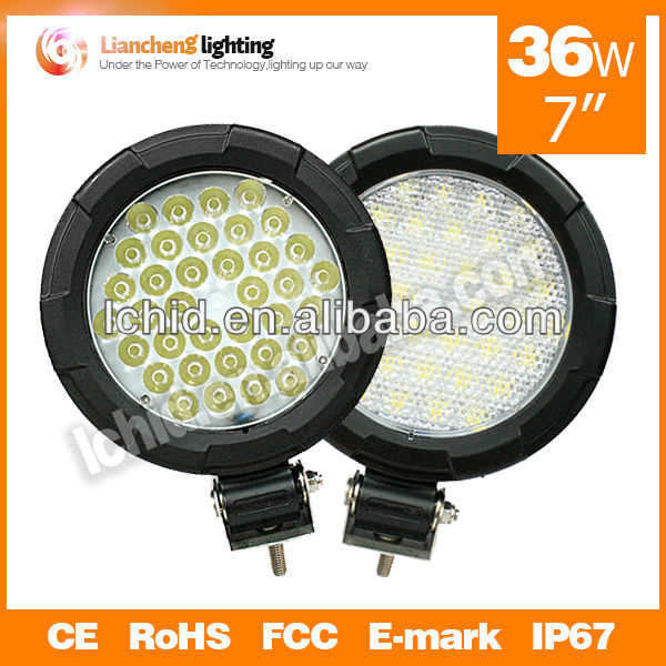 led car light 36W led auto lamp car tuning parts led work light