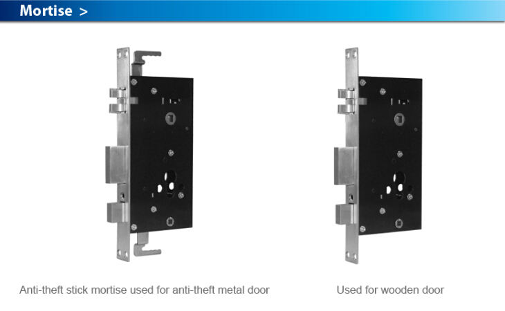 Touch Screen Condominium lock (with key or keyless)