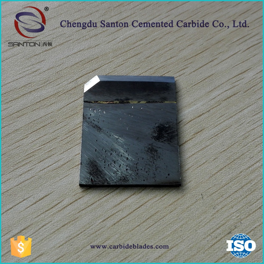 tungsten carbide blades for cutting nuts machines