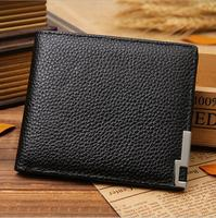 2016 Famous brand new genuine leather wallet