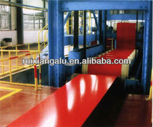 PE/PVDF color/colour prepainted/painted/coated aluminum sheet