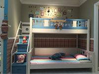 Wholesale Children Room Furniture Wooden Bunk Bed With Ladder For Kids Bunk Bed