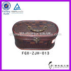 best gift item!!!square PU leather box for home decoration