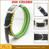 wide webbing belt dog pet collar with custom logo