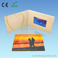 Digital adversing display birthday video greeting card for boyfriend