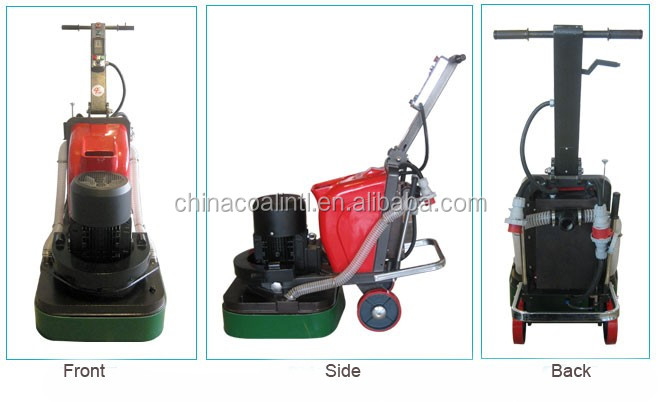 Best selling lw300 concrete floor grinding machine with for Best vacuum for concrete floors