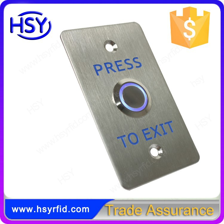 K3-DL Access control door release Push Stainless Steel exit button with LED Light