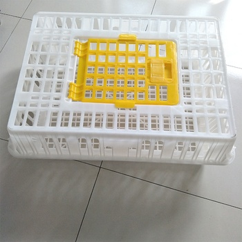 PE materials turkey crate transport duck  goose  pigeon plastic poultry chicken cage
