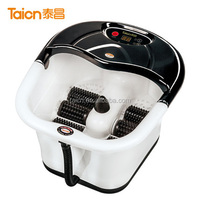 electric heated portable water spa foot massage machine tc-201c