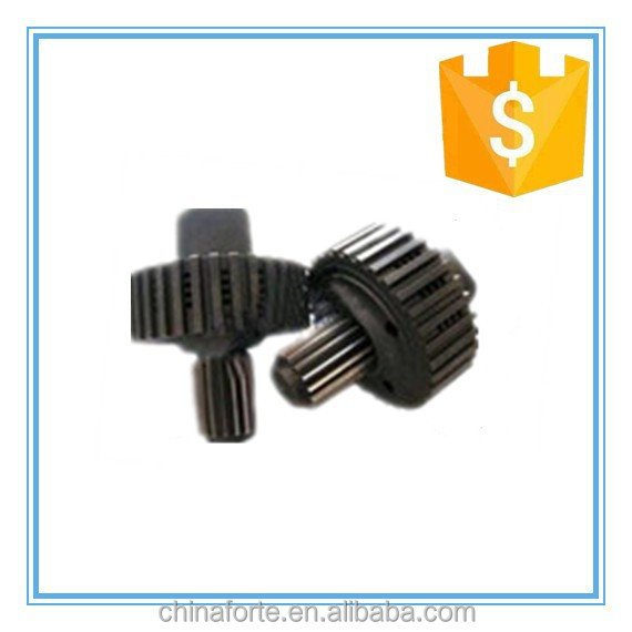 hot selling products cast parts metal custom gears shaft warm gear