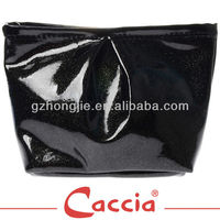 Girls shiny cosmetic bag
