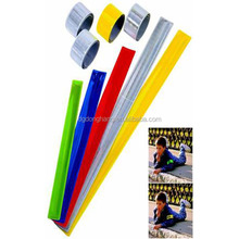 40 cm Long PVC Reflective Custom Snap Bands