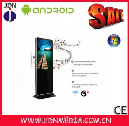Full HD 1920*1080 43 inch industrial all-in-one pc embedded touch screen computer