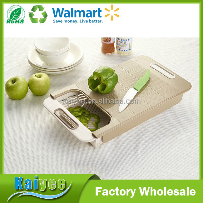 Eco-Friendly vegetable cutting board kitchen chopping block function of cutting board