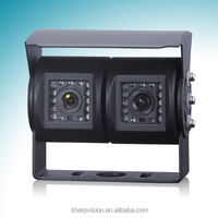 factory supply waterproof Dual Car Front And Rear Camera for truck/vehicle /lorry/bus