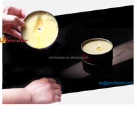 scented soy wax tin candle