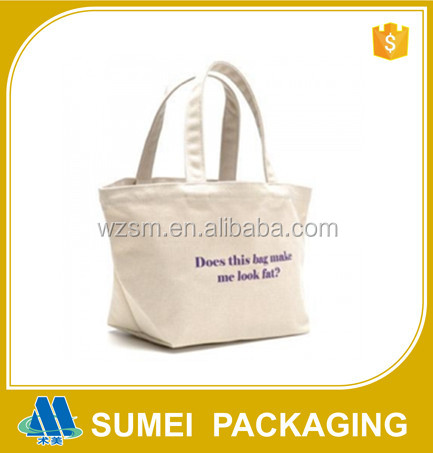 Wholesales bulk 100% organic cotton canvas tote shopping bag with logo designer