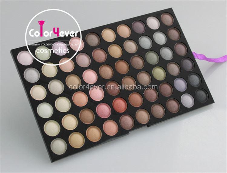 private logo 120 color eyeshadow palette romantic color