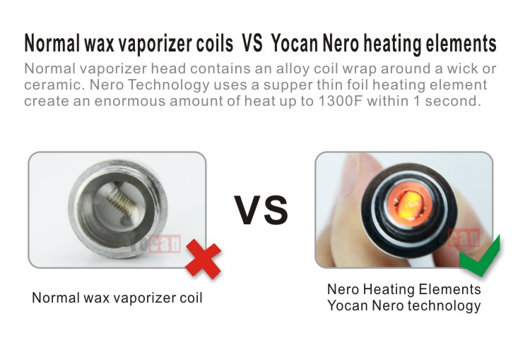 Popular new arrival Yocan THOR dry herb vaporizer all heating elements made  in USA wax vaporizer