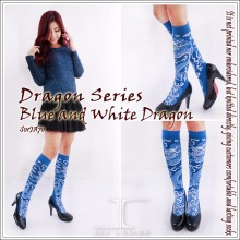 Popular Dragon Series teen design socks