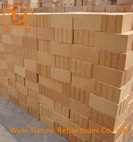 refractory fire chamotte rounded sleeve bricks