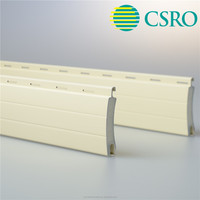 40mm aluminum decorative foam roller shutter slat