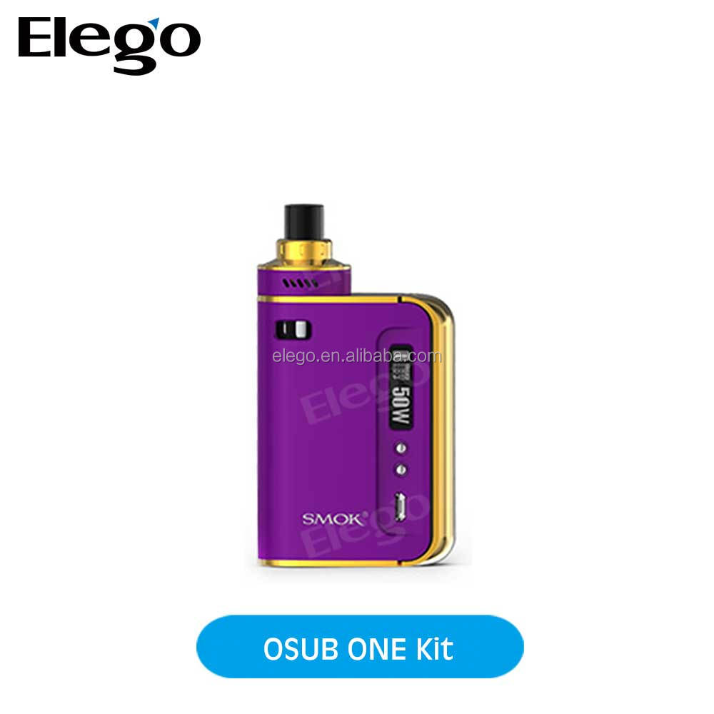 Hottest All-in-one Designed SMOK OSUB ONE KIT 50W Mod 2200mah Battery