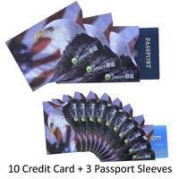 RFID Blocking Premium Sleeve Set Passport