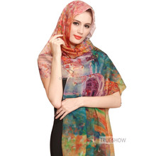 japanese wholesale plain silk wool fabric hijab scarf