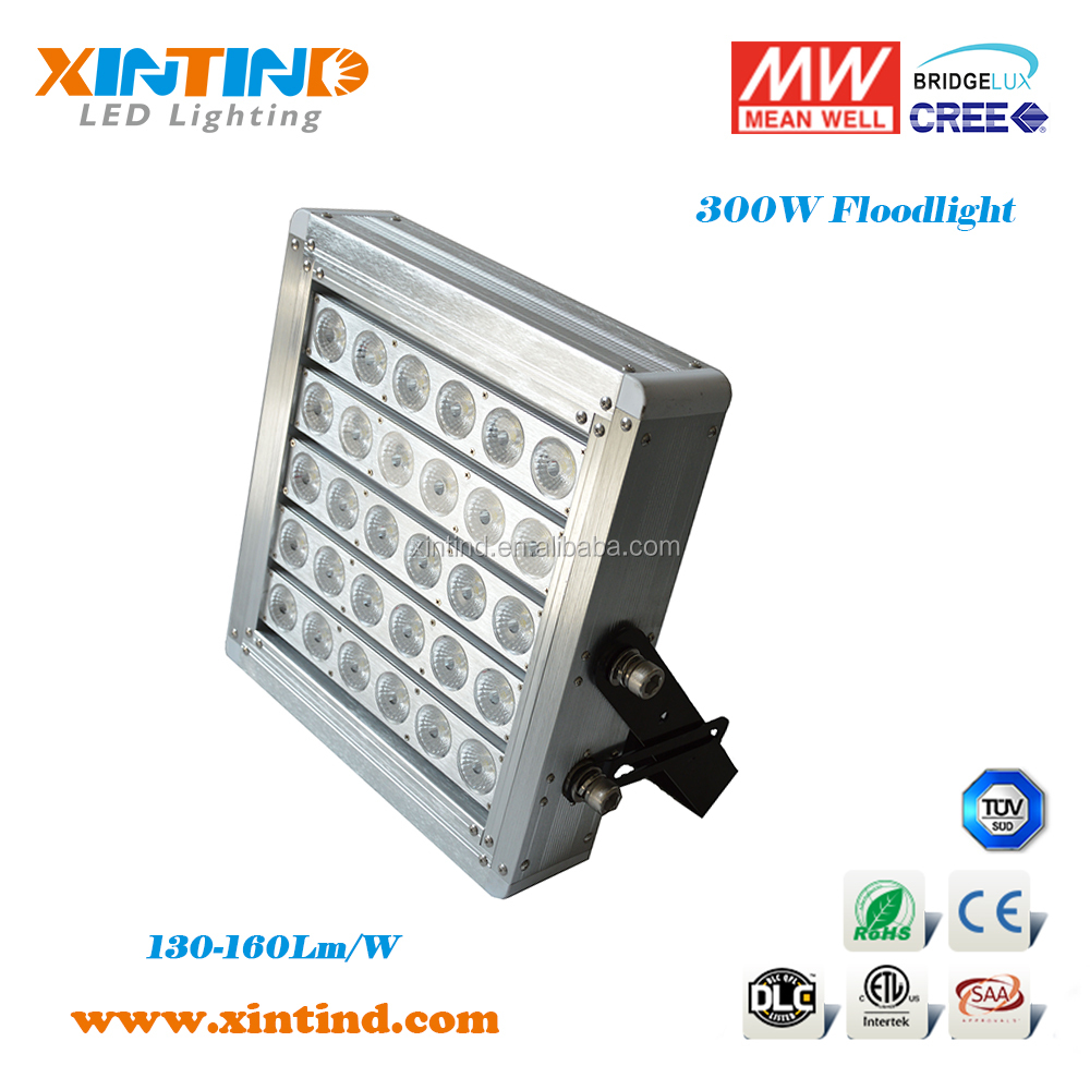 300W,tri-proof, anti-glare, explosion-proof LED floodlight for stadium,packing lot wharf, yard, railway station lighing