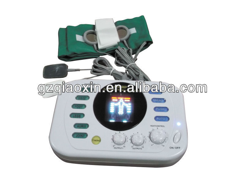 Acupuncture Machine with LCD Display/Digital Voice for Family/Clinic Use