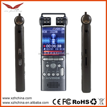 dual core stereo noise reduction voice recording devices
