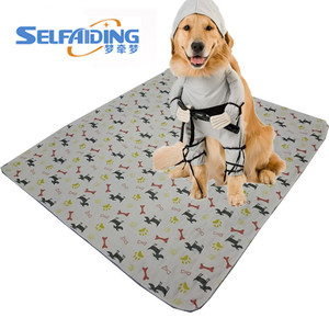 High Absorbent Washable Puppy Training Pad Reusable Pet Training Products Type and Waterproof Dog Pee Pads