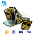 Custom design plastic thermo shrink film for drink