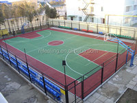 Rubber Basketball Flooring, Outdoor Basketball Court Flooring -FN-D-15010905