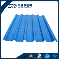 High Accuracy and Low price colorful coated metal roofing tile