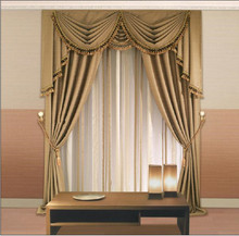 Remote control motorized curtain track systems, electric curtain tracks for hotel living room villas