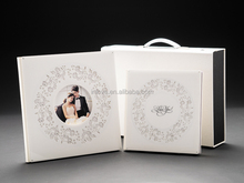 New design perfect binding crystal latest wedding photo album