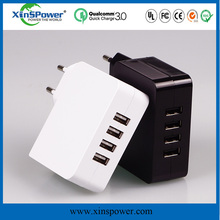 Xinspower(25w 4-Port USB Charging Station)Multi-Port USB Charger Small size Hub For IPhone for IPad Air