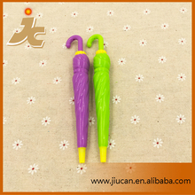 JC-P402 Plastic umbrella shaped ball pen for promotion