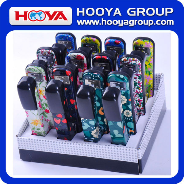 Hot office floral printing stapler 24/6-26/6#