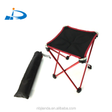 outdoor furniture aluminum camping portable oxford mini kids folding short beach chair stool